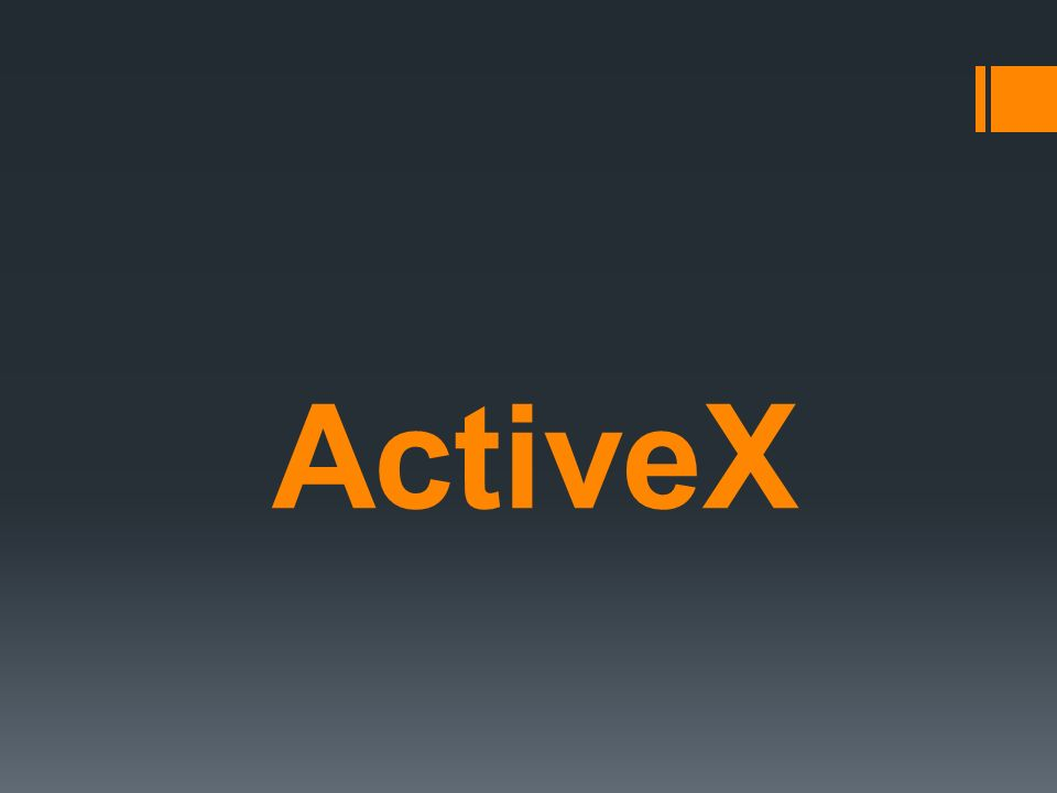 Particularidades ActiveX es una tecnología que ha sido desarrollada por Microsoft para potenciar su sistema OLE (Object Linking and Embedding) en la Web y mejorar navegadores de Internet, en particular Internet Explorer.
