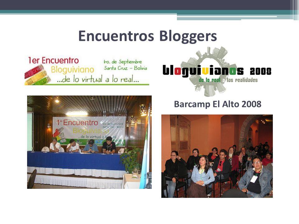 Encuentros Bloggers Barcamp El Alto 2008