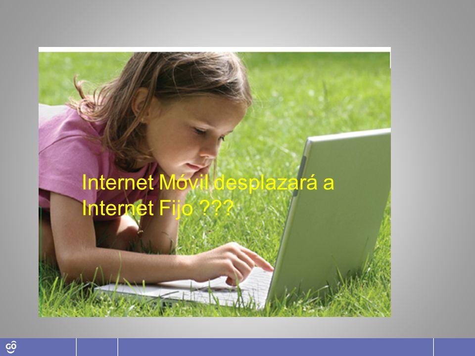 Internet Móvil desplazará a Internet Fijo ???