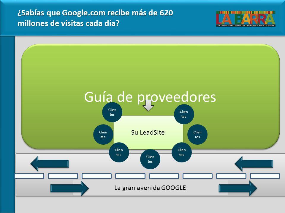 ¿Sabías que Google.com recibe más de 620 millones de visitas cada día.