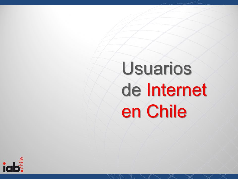 Usuarios de Internet en Chile