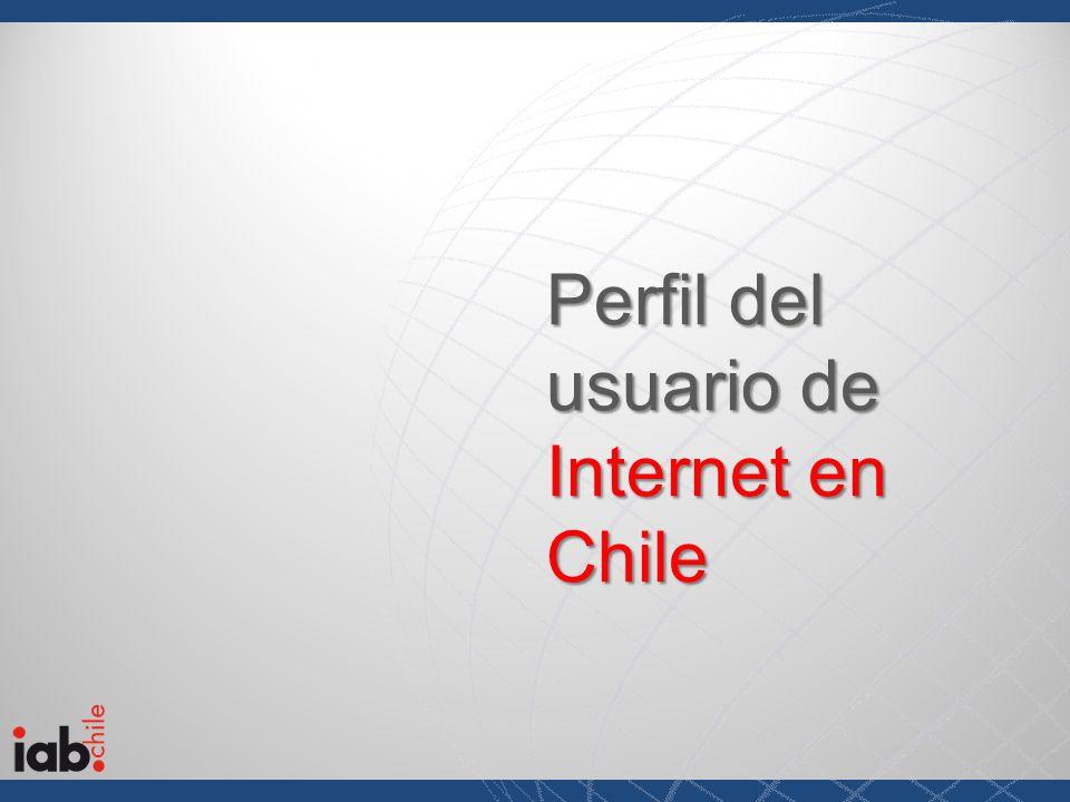 Perfil del usuario de Internet en Chile