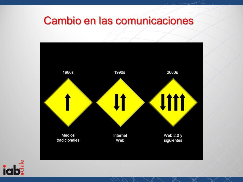 Cambio en las comunicaciones