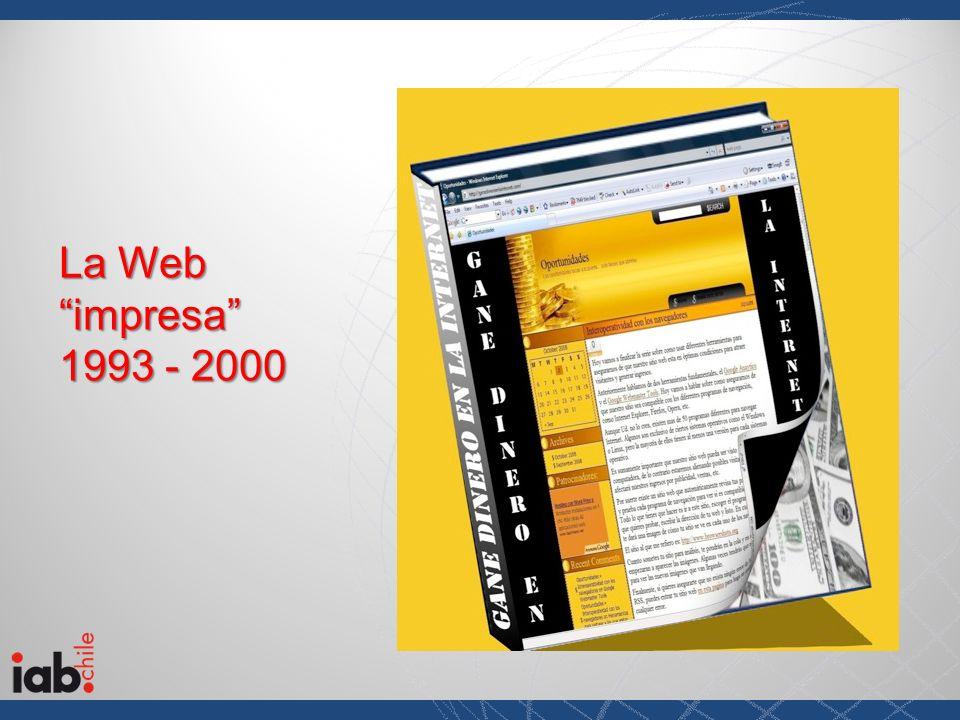 La Web impresa 1993 - 2000