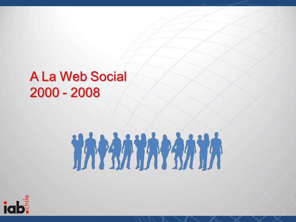 A La Web Social 2000 - 2008