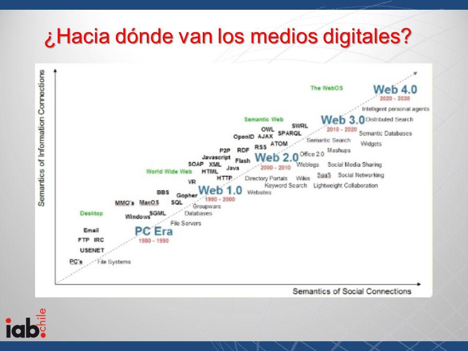 ¿Hacia dónde van los medios digitales?