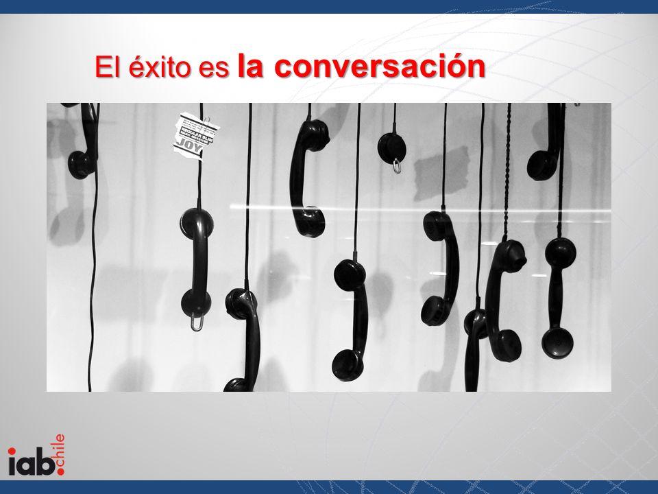 El éxito es la conversación