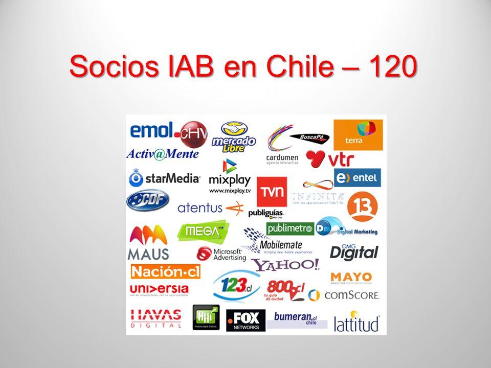 Socios IAB en Chile – 120
