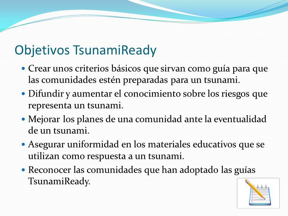 19 Municipios TsunamiReady en Puerto Rico 43% de las Comunidades Costeras de PR