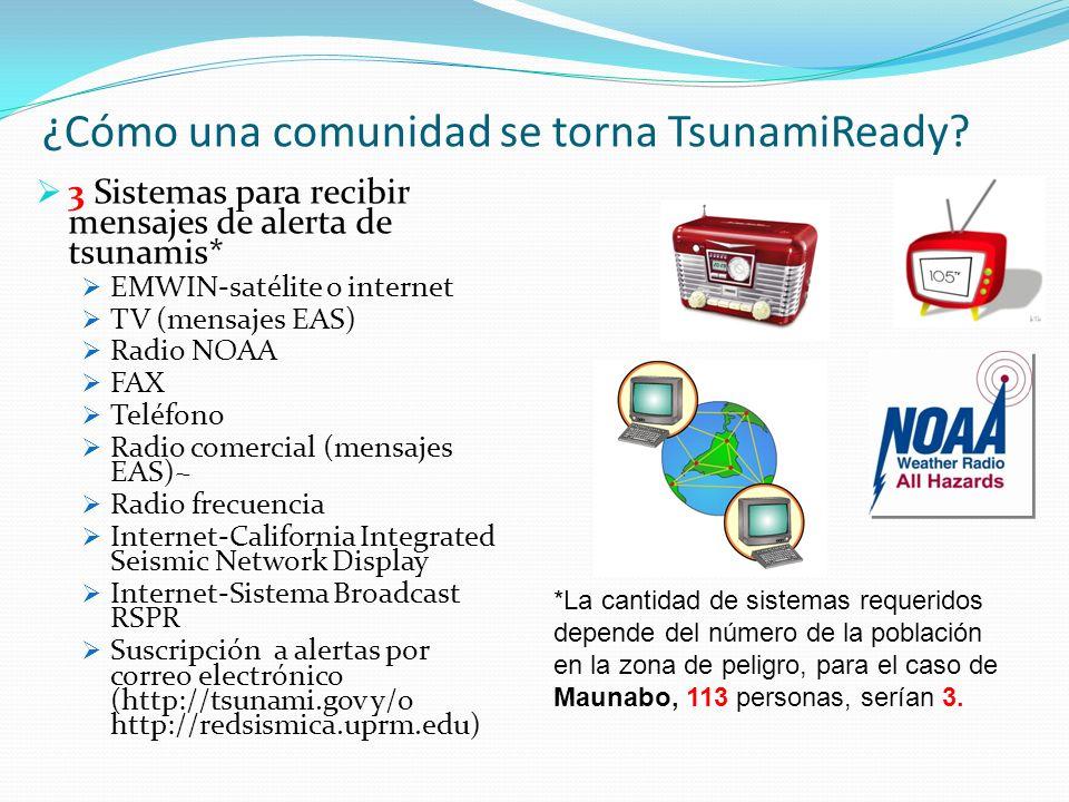 Para más información… Programa de Alerta de Tsunamis del Caribe, SNM, NOAA- Mayagüez http://www.srh.noaa.gov/srh/ctwp Tel.