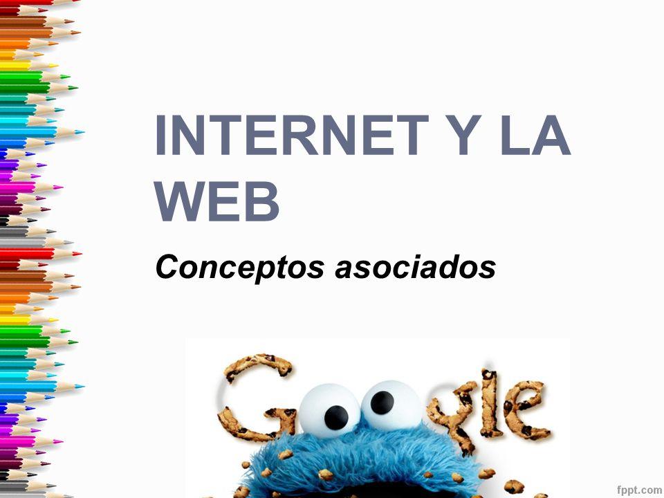 Conceptos asociados INTERNET Y LA WEB