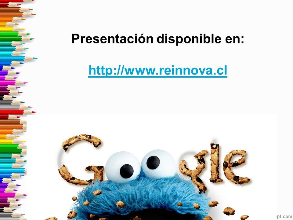Presentación disponible en: http://www.reinnova.cl http://www.reinnova.cl