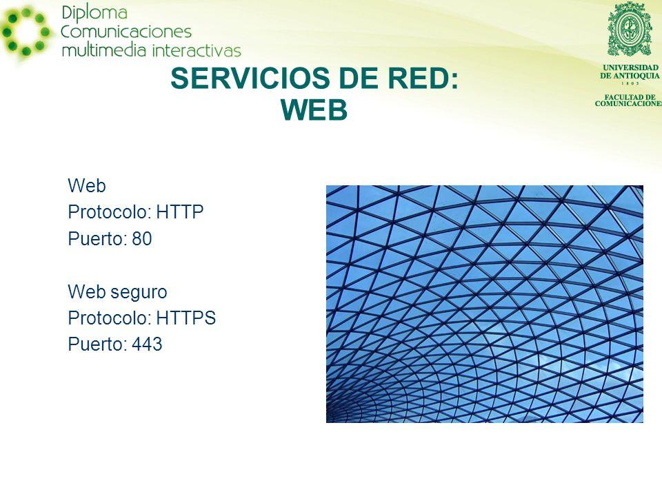 Protocolo: FTP Puertos: 20 y 21 SERVICIOS DE RED: TRANSFERENCIA DE ARCHIVOS