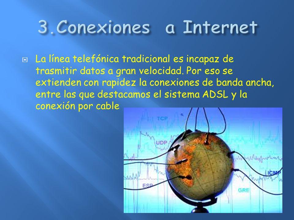 Las siglas ADSL provienen de la expresión Asymmetric Digital Subscriber Line (Línea de Abonado Digital Asimétrica).
