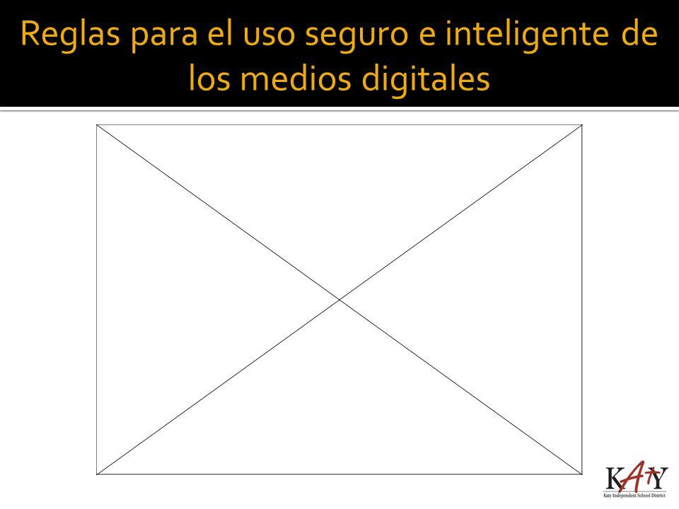 Reglas para el uso seguro e inteligente de los medios digitales