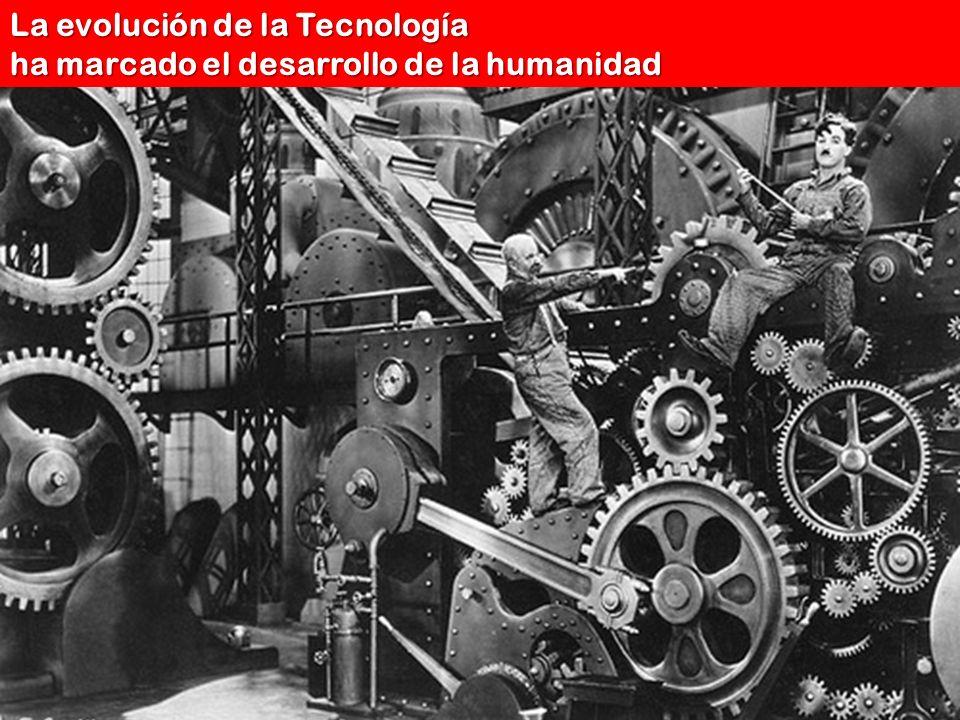 La evolución de la Tecnología ha marcado el desarrollo de la humanidad