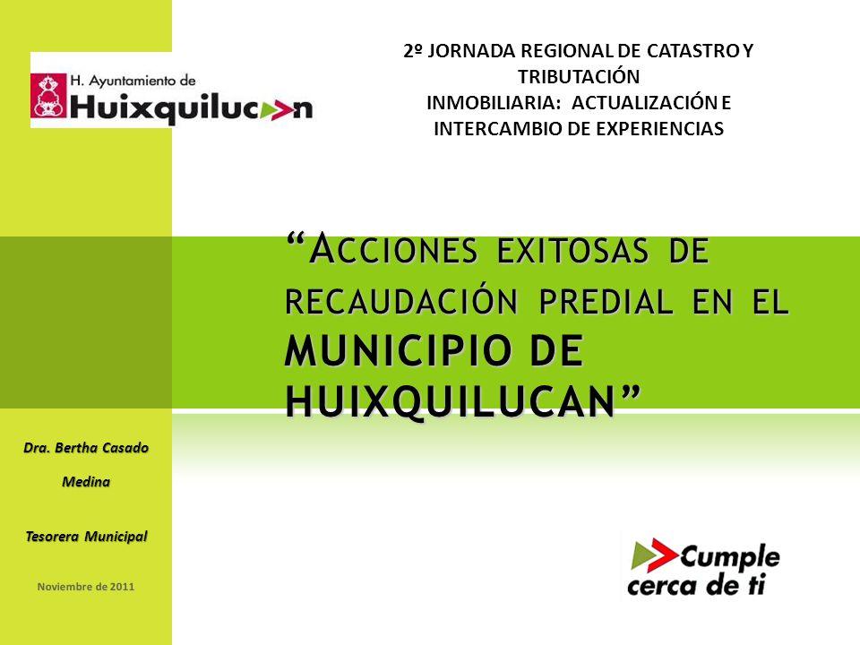 Enero de 2001 CÓDIGO DE ÉTICA DE GRUPO BIMBO: NUESTRA PERSONALIDAD A CCIONES EXITOSAS DE RECAUDACIÓN PREDIAL EN EL MUNICIPIO DE HUIXQUILUCAN Dra.