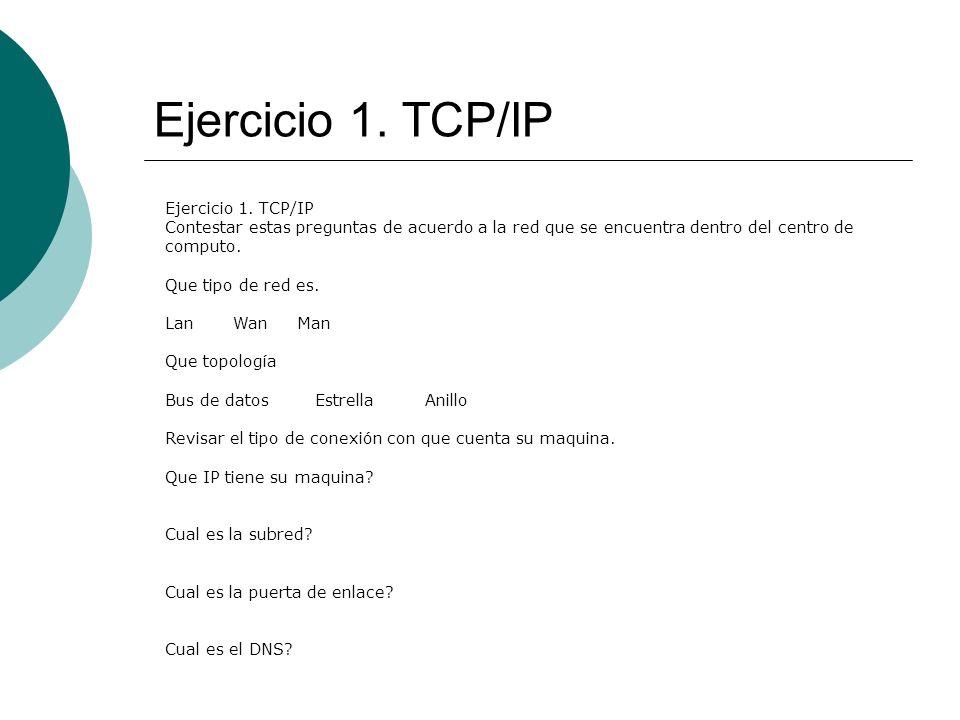 Ejercicio 1.