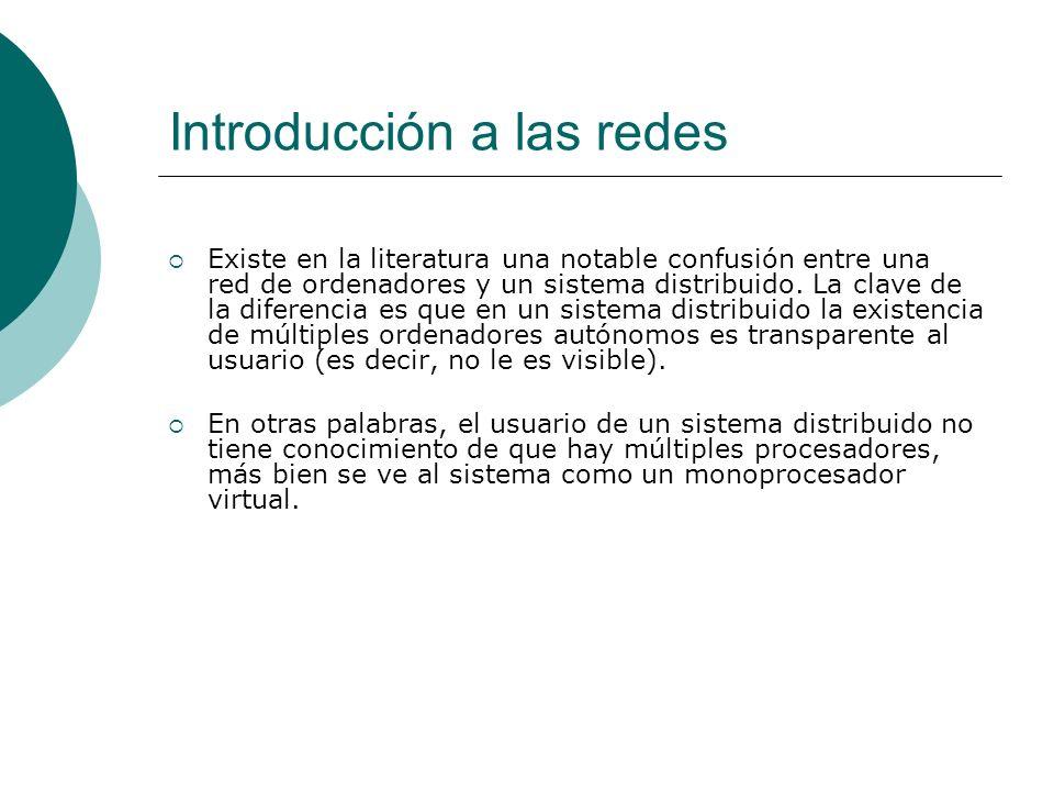 Estructura de la red La subred que utiliza este principio se denomina subred punto a punto.