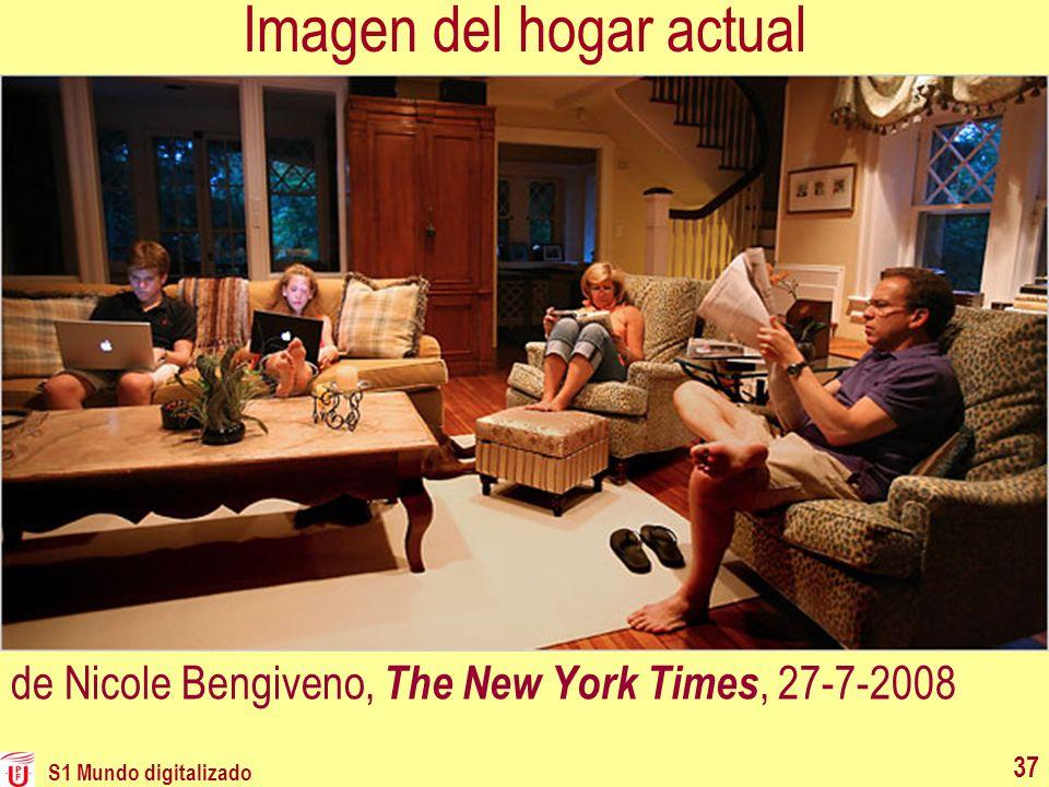 Imagen del hogar actual de Nicole Bengiveno, The New York Times, 27-7-2008 S1 Mundo digitalizado 37