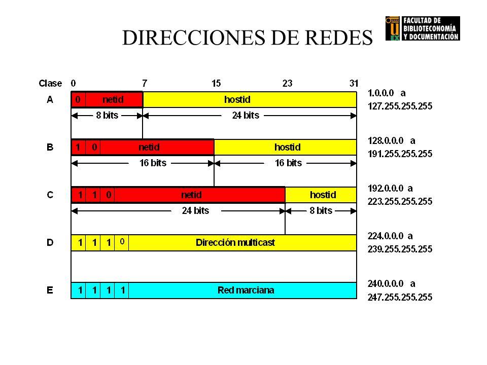 DIRECCIONES DE REDES