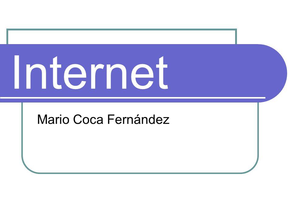 World Wide Web / Componentes Servidor web: almacena y administra las páginas webs.