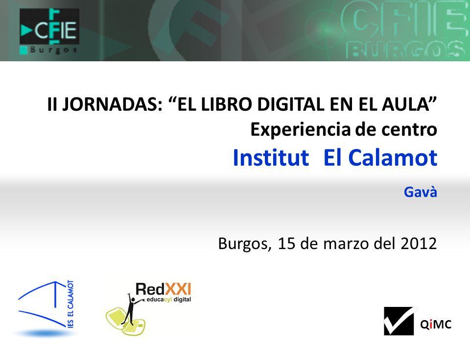 QiMC RECURSOS PARA CONTINUAR CREANDO, COMPARTIENDO, COLABORANDO http://www.ieselcalamot.com/blogs.php
