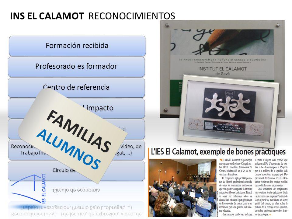 QiMC INS EL CALAMOT RECONOCIMIENTOS FAMILIAS ALUMNOS
