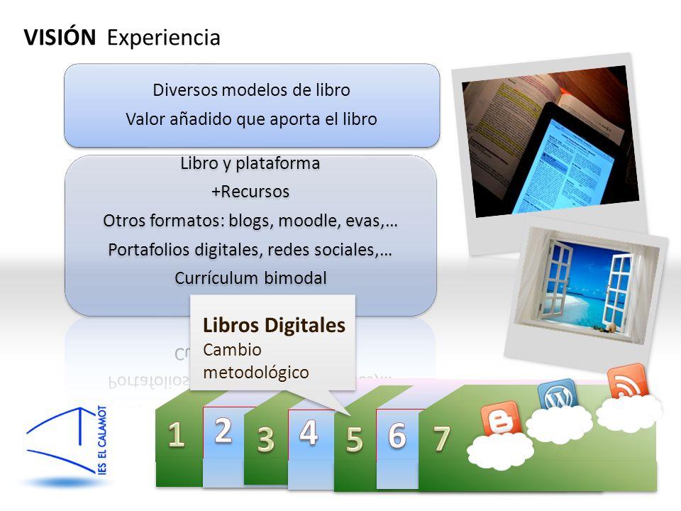 QiMC VISIÓN Experiencia Libros Digitales Cambio metodológico
