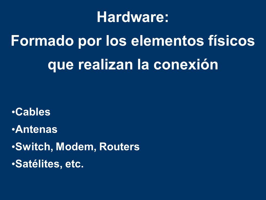 Cables Antenas Switch, Modem, Routers Satélites, etc.