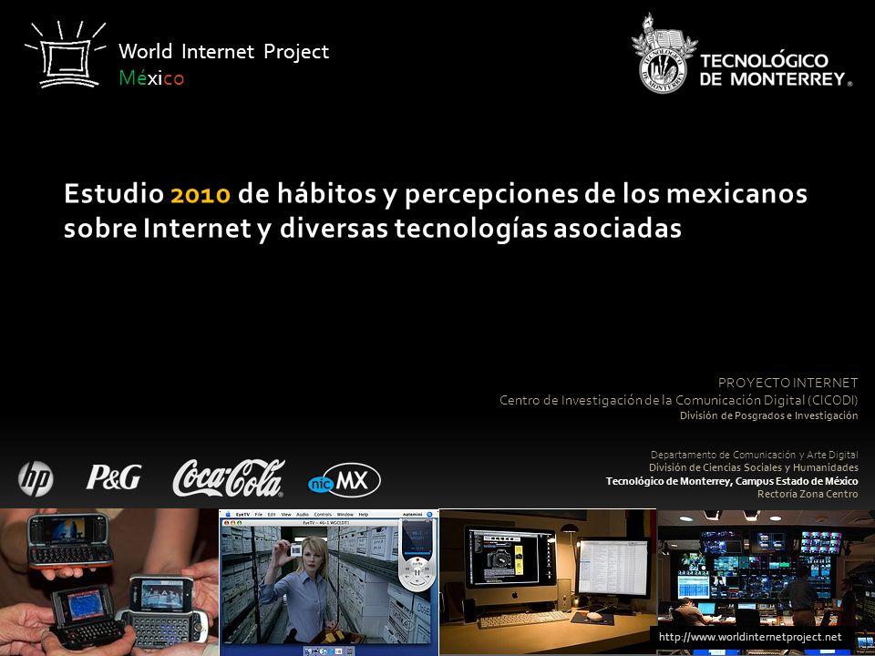 PROYECTO INTERNET Centro de Investigación de la Comunicación Digital (CICODI) División de Posgrados e Investigación Departamento de Comunicación y Art