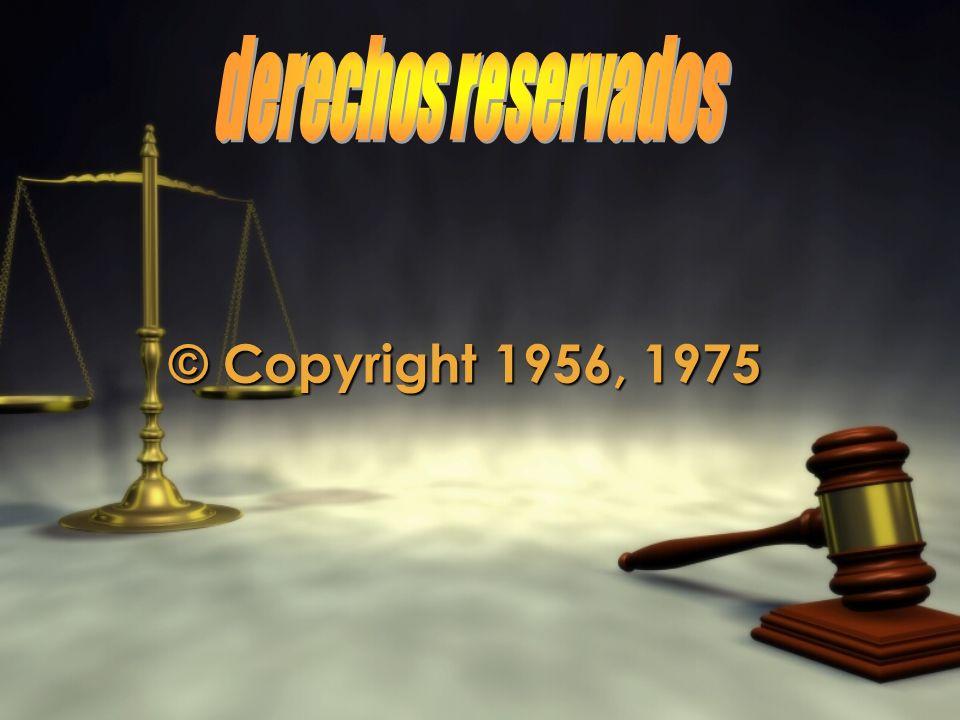 © Copyright 1956, 1975 © Copyright 1956, 1975