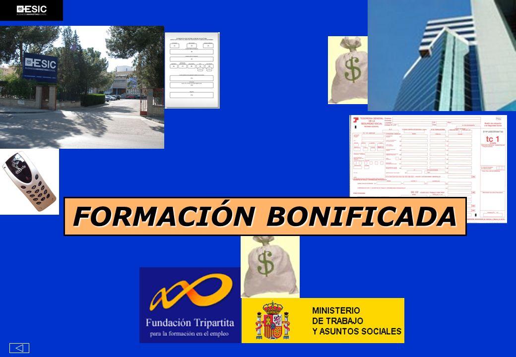 FORMACIÓN BONIFICADA