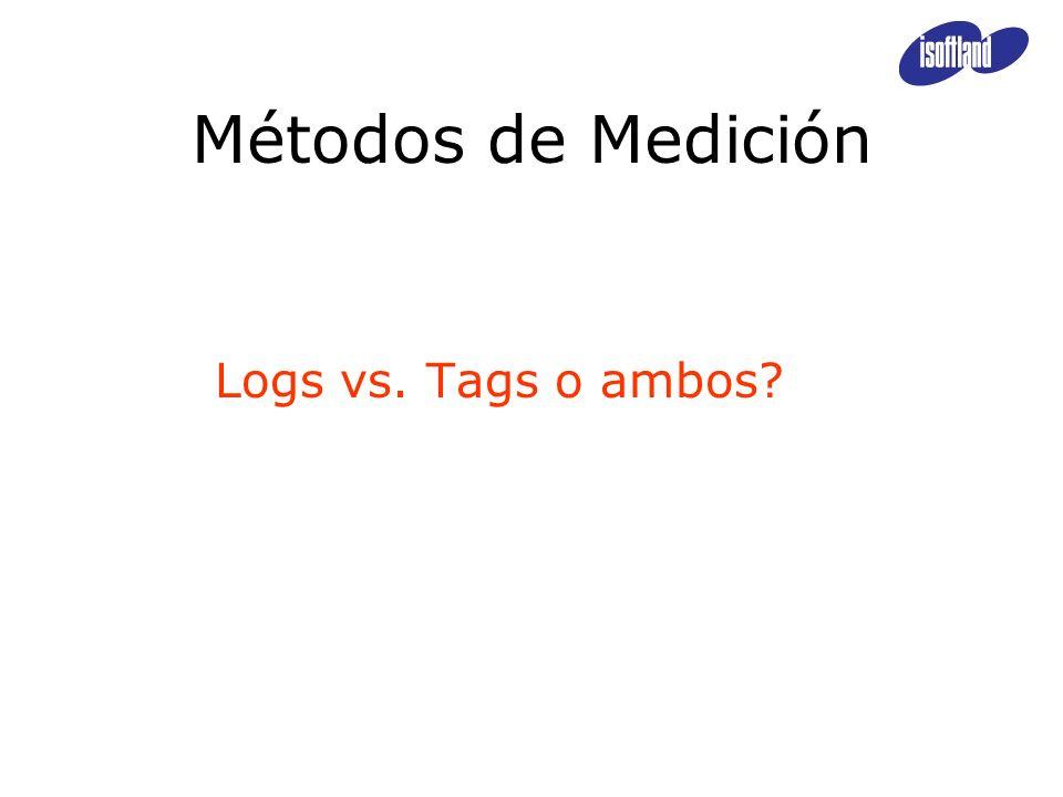 Métodos de Medición Logs vs. Tags o ambos?