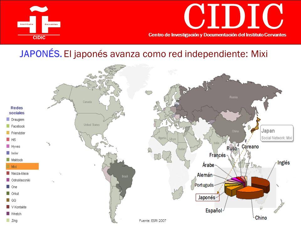 CIDIC Centro de Investigación y Documentación del Instituto Cervantes JAPONÉS.