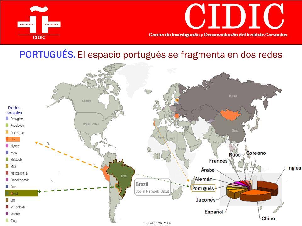 CIDIC Centro de Investigación y Documentación del Instituto Cervantes PORTUGUÉS.