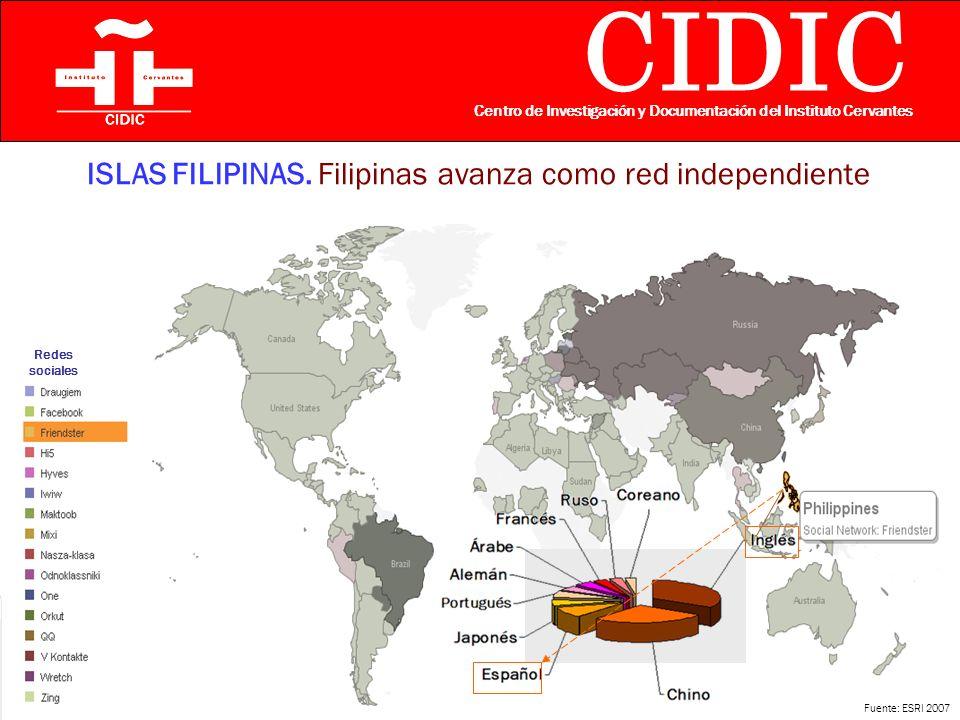 CIDIC Centro de Investigación y Documentación del Instituto Cervantes ISLAS FILIPINAS.