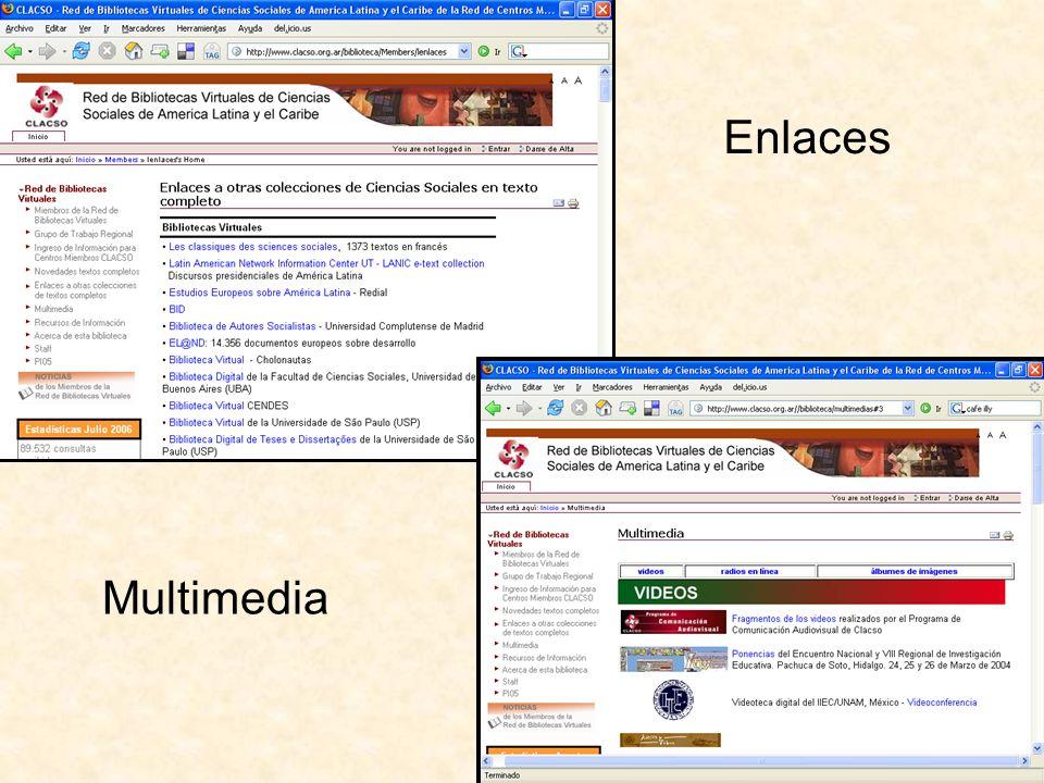 Enlaces Multimedia