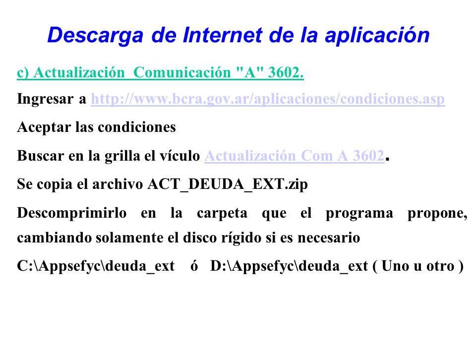 c) Actualización Comunicación