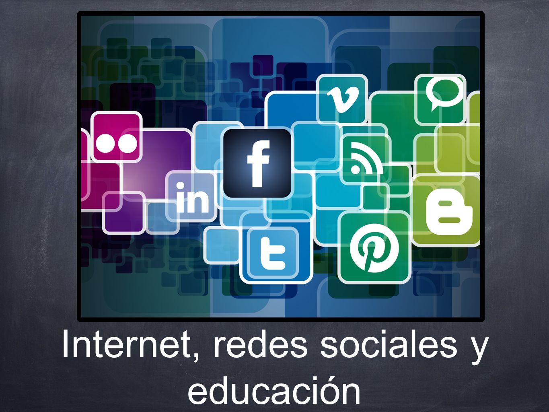 Internet, redes sociales y educación