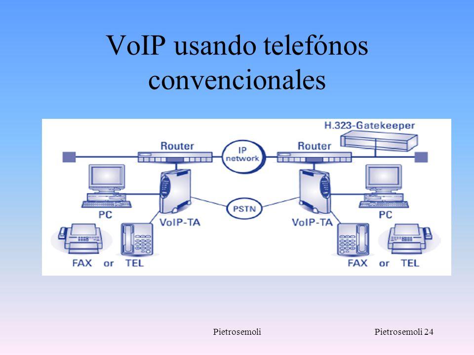 PietrosemoliPietrosemoli 24 VoIP usando telefónos convencionales
