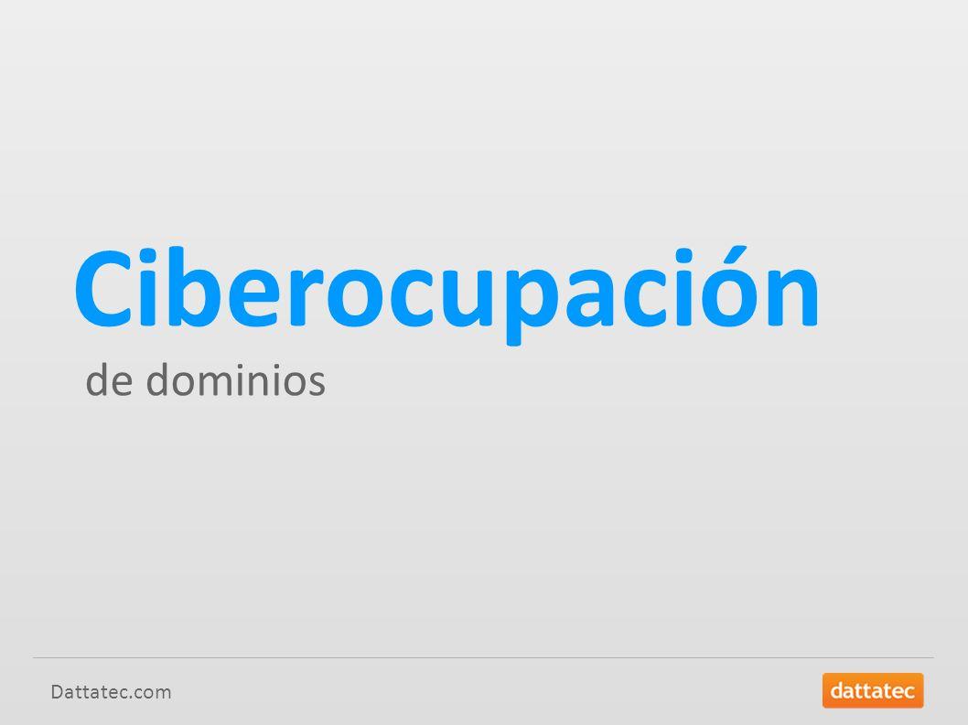 Dattatec.com Ciberocupación de dominios