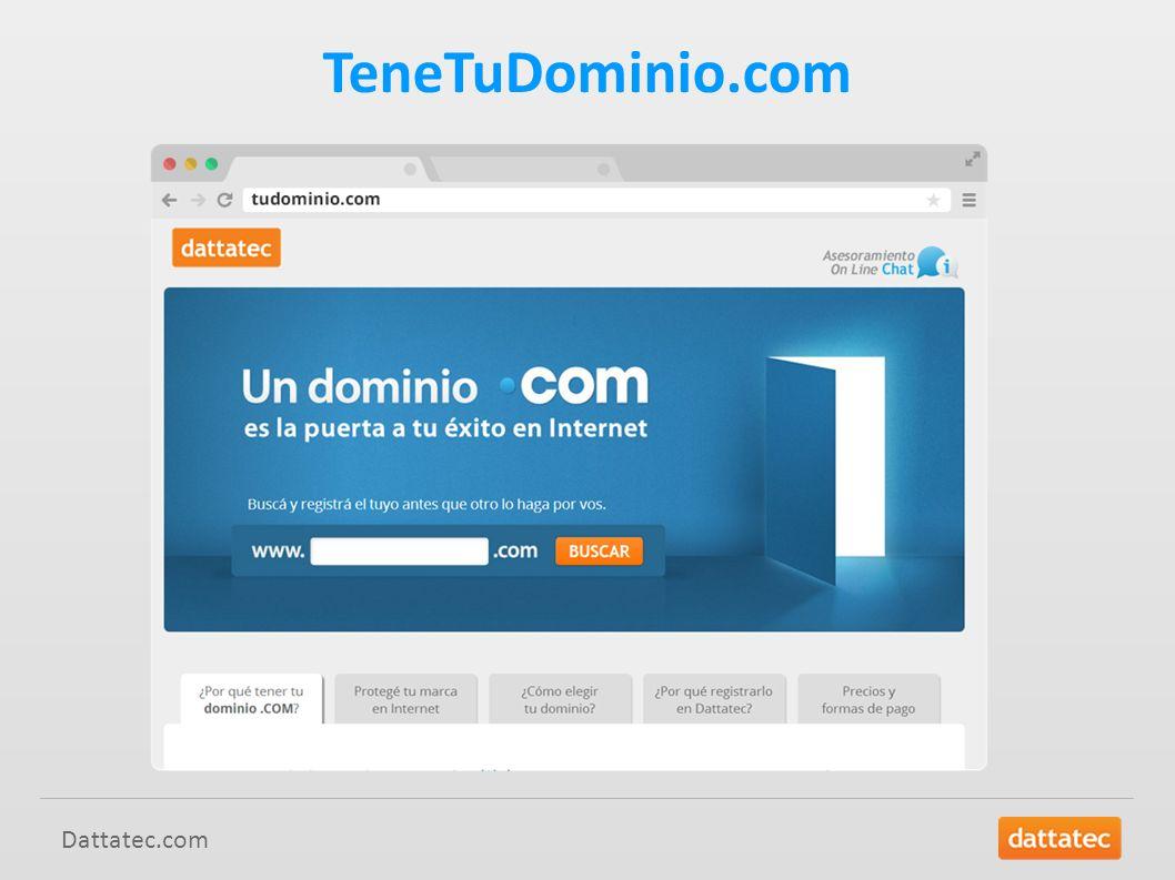 Dattatec.com TeneTuDominio.com