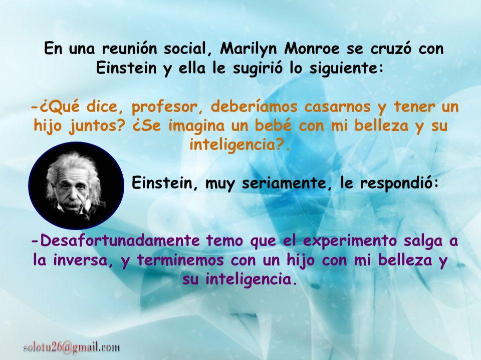 En 1919 Einstein fue invitado por el inglés Lord Haldane a compartir una velada con diferentes personalidades. Entre éstas había un aristócrata muy in