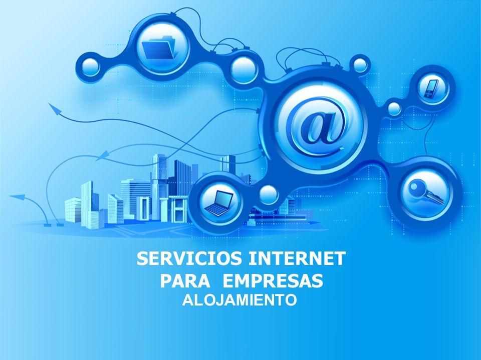 SERVICIOS INTERNET PARA EMPRESAS ALOJAMIENTO
