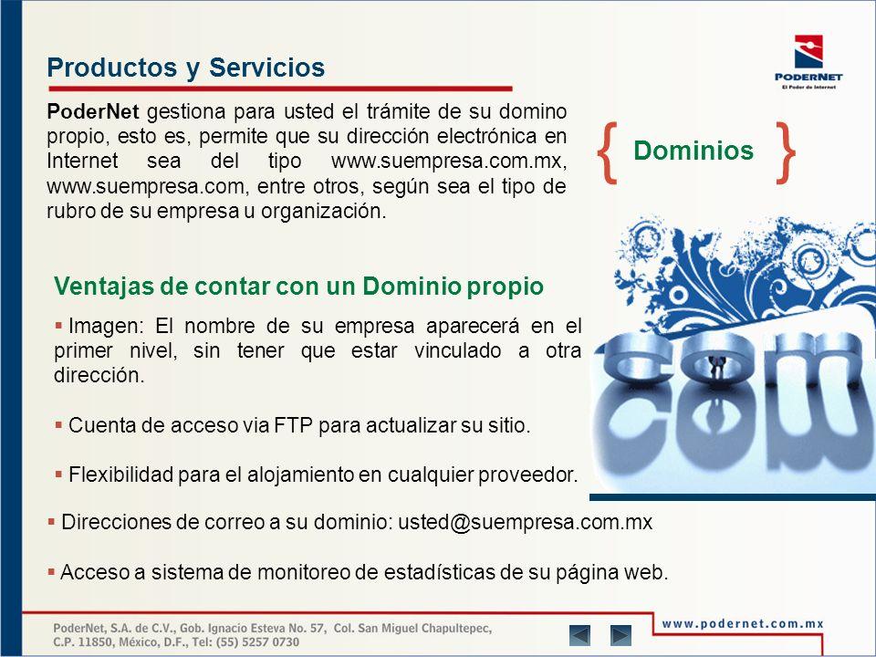 Productos y Servicios Conectividad Nuestra experiencia en el servicio de conexión a Internet es de más de 12 años, realizando importantes campañas para empresas como: Acer y Palacio de Hierro.