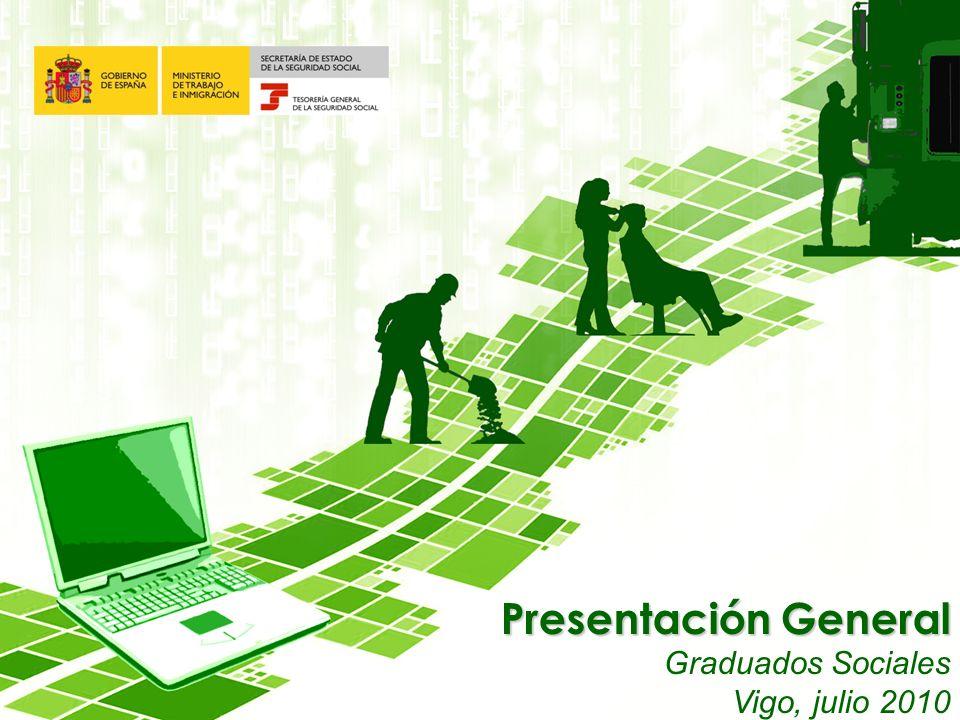Presentación General Graduados Sociales Vigo, julio 2010