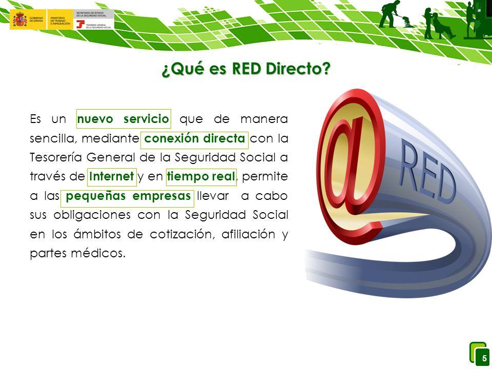 5 ¿Qué es RED Directo.