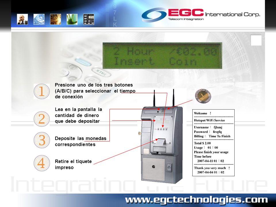 Respaldo y Recuperación Esta función permite salvar, restaurar, o cambiar los parámetros de configuración del Terminal WiFi.
