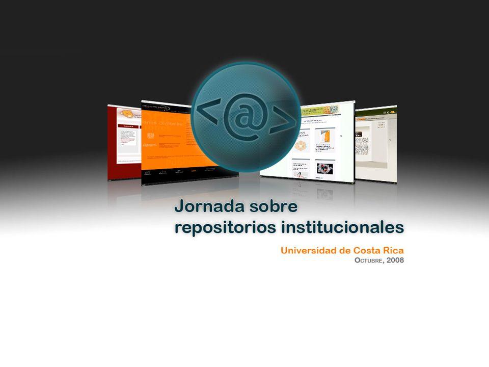 Institución Repositorio Repositorio híbrido El repositorio híbrido es una conjunción entre los dos modelos antes mencionados, es decir con una organización distribuida y un mecanismo de cosecha de metadatos y preservación centralizada.